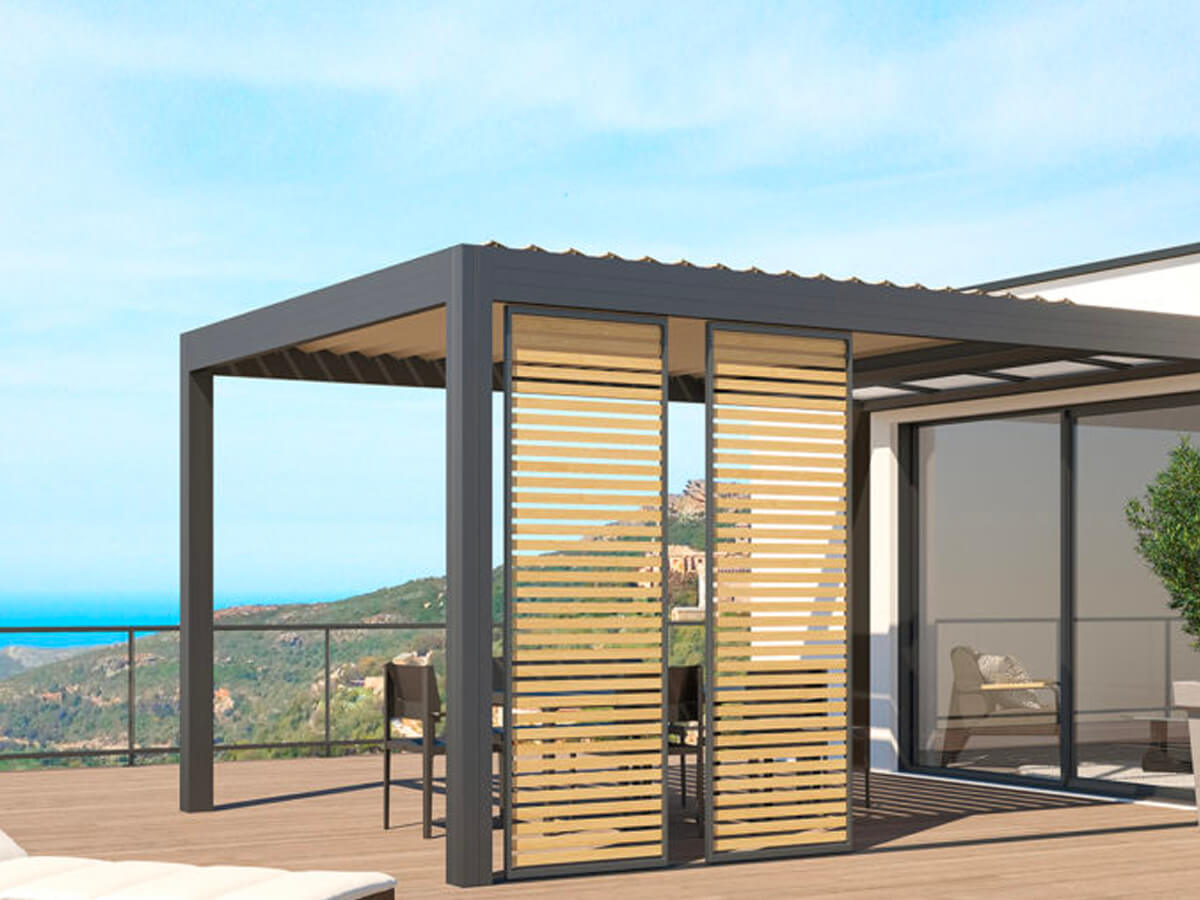 Pergolas bioclimatique